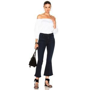 NWT FRAME Denim La Crop Bell Jeans